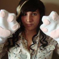 Cosplay Kitten Mittens