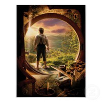Bilbo Back in Shire Collage Poster