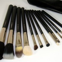 12pcs Mac Makeup Brush Set
