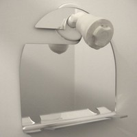 Objectify Shower Shaving Mirror