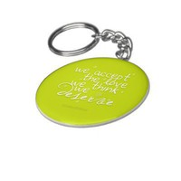 The Perks Love Keychain from Zazzle.com