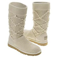 Ugg Classic Knit Boots Creme