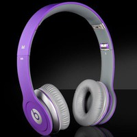 Monster by Dr Dre Just Beats Solo On-ear Headphones with ControlTalk 100% AUTHENTIC - [JUSTIN BIEBER]