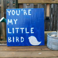 Little Bird  Ed Sheeran / Lyric Art / Canvas by TurquoiseAndRain