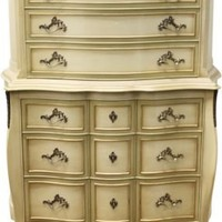One Kings Lane - Vintage + Market Finds - 1950s Regency-Style Highboy Dresser