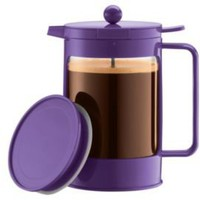 One Kings Lane - The Kitchen - Bodum 51 oz Ice Coffee Maker, Purple