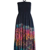 Mudmee Tie-dye Tube Dress: Soul-Flower Online Store