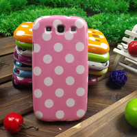 Polka Dots Case for Samsung Galaxy S3