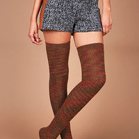 Twist Knit Thigh Highs | High Socks at Pink Ice