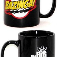 ROCKWORLDEAST - Big Bang Theory, Coffee Mug, Bazinga