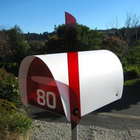Objectify &quot;Hoopla&quot; Mailbox