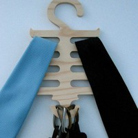 "Objectify""Centiepede"" Tie and Belt Hanger"