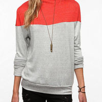 Daydreamer LA Colorblock High Neck Tee