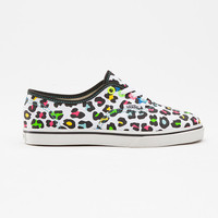 Neon Leopard Authentic Lo Pro, Girls