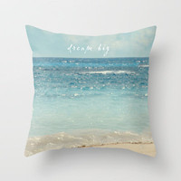 dream big Throw Pillow by Sylvia Cook Photography | Society6