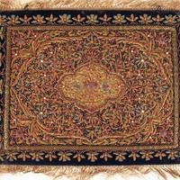 Handcrafted Exceptional Jewel Carpet Rug Wall Decor