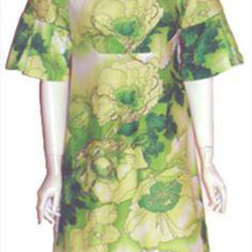 Vintage 70s Hawaiian Dress by Tropicana Hawaii