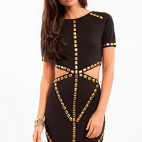 Cut to the Waist Dress $43