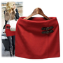 @Free Shipping@ Women Wool Red Dress S/M/L/XL q0004r from Voguegirlgo