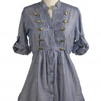 The Denim Millennium Top | Indie Retro Vintage Inspired Tops| Poetrie