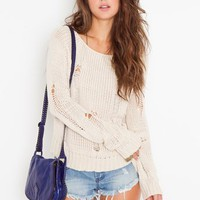 Totally Ripped Knit in Clothes Tops at Nasty Gal
