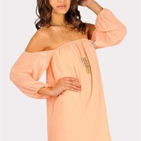 Desert Moon Dress - Peach