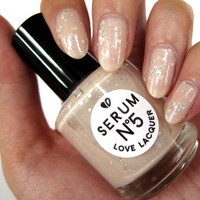Barely There 15ml Nail Polish by SerumNo5 on Etsy
