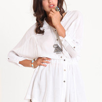 Better Days Shirt Dress - $45.00 : ThreadSence.com, Your Spot For Indie Clothing  Indie Urban Culture
