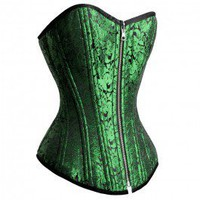 RV-003 - Reversible Black/Green Waist Training Corset - Further Reductions - SALE