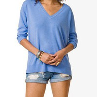 V-Neck Drop Sleeve Sweater | FOREVER 21 - 2040496207