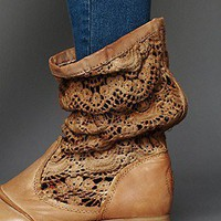 Free People Clothing Boutique &gt; Crochet Slouch Boot
