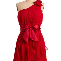 Aren't You Precious Dress in Ruby | Mod Retro Vintage Dresses | ModCloth.com