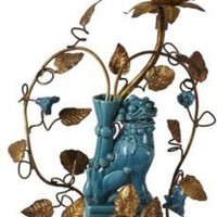 One Kings Lane - Berkshire Home & Antiques - Chinese Foo Dog Lamp