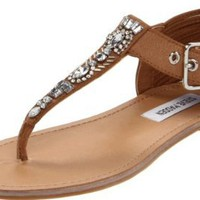 Amazon.com: Steve Madden Women's Starrzzz Thong Sandal: Steve Madden: Shoes