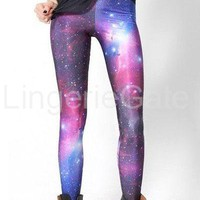 Multicolored Fancy Galaxy Leggings-SY-79112 from LingerieGate