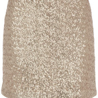 Champagne sequin skirt - Skirts - Dorothy Perkins