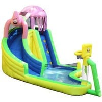 Amazon.com: Sportcraft SpongeBob and Friends Waterslide with Sports Center: Sports &amp; Outdoors