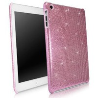 Amazon.com: BoxWave Apple iPad mini Glamour & Glitz Case - Sleek Form-Fitting Protective Shell Case w/ Sparkly Glitter Design - iPad mini Cases and Covers (Princess Pink): Electronics