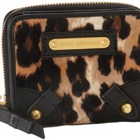 Amazon.com: Juicy Couture SFP YSRU2348-253 Wallet,Camel Leopard,One Size: Clothing