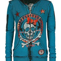 Affliction American Customs Bye Love Sweatshirt - Women's Hoodies | Buckle