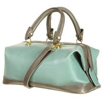 Mint and Grey Doctors Bag - Topshop USA