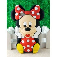 Amazon.com: New 3D Cute Cartoon Mouse Soft Silicone Case Cover for Apple iPhone 5: Cell Phones & Accessories