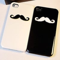 iphone 4 case, iphone 4s case, iphone 5 case,iphone 5 cover iphone 5 cases- avanty beard iphone case