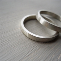 Wedding Bands Set Wedding Band Wedd.. on Luulla