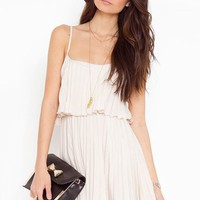 Sweet Pleat Dress
