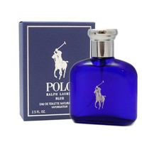Polo Blue Cologne by Ralph Lauren for Men. Eau De Toilette Spray 2.5 oz / 75 Ml