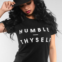 The Humble Thyself Tee