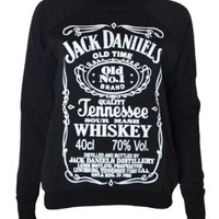 Amazon.com: Womens Jack Daniels Sweater Top: Clothing