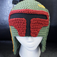 Boba Fett Star Wars Hat  ALL sizes by BeeBeeKins on Etsy