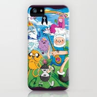 Adventure Time! iPhone Case by James Burlinson | Society6